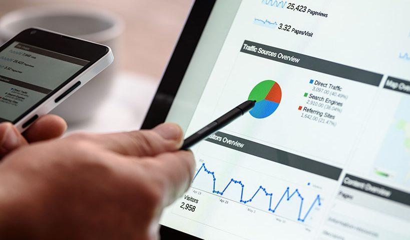google analytics charts report