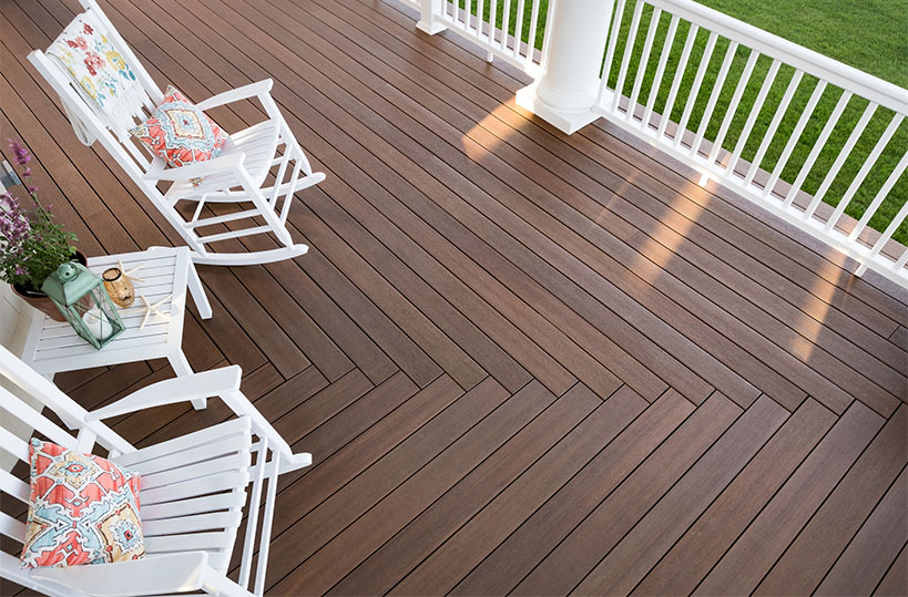 home wood deck